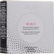 Voňavky, Parfémy, kozmetika Minerálna podkladová báza - Pur 4-In-1 Pressed Mineral Makeup SPF15