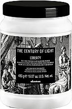 Voňavky, Parfémy, kozmetika Zosvetľujúci púder pre techniku z voľnej ruky - Davines The Century of Light Liberty Free Hand Premium Hair Bleaching Powder