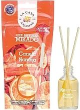 """Voňavky, Parfémy, kozmetika Aromatický difúzor """"Škorica a pomaranč"""" - La Casa de Los Aromas Mikado Reed Diffuser"""