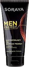 Voňavky, Parfémy, kozmetika Čistiaci gél na tvár - Soraya Men Energy