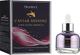 Voňavky, Parfémy, kozmetika Sérum s kaviárovým extraktom na doanie pleti žiary - Deoproce Caviar Shining Turn Over Ampoule