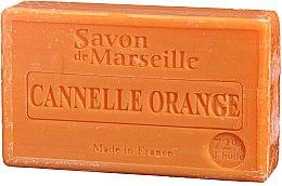 """Voňavky, Parfémy, kozmetika Prírodné mydlo """"Pomaranč a škorica"""" - Le Chatelard 1802 Soap Orange & Cinnamon"""