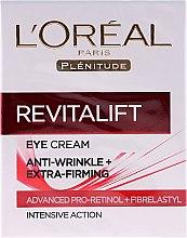 Voňavky, Parfémy, kozmetika Krém na očné okolie - L'Oreal Paris Revitalift