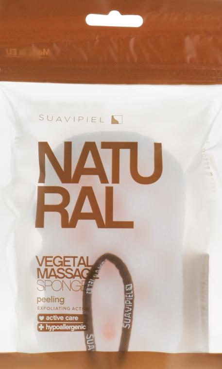 Hubka masážna, celulóza-polyuretán - Suavipiel Natural Vegetal Massage Sponge