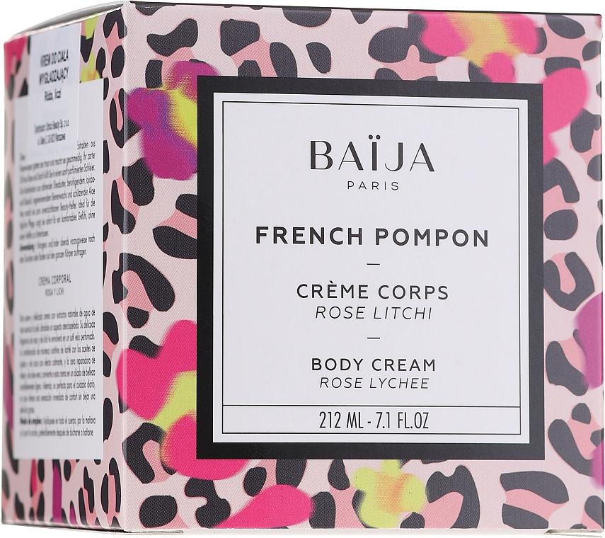 """Krém na telo """"Ruža a liči"""" - Baija French Pompon Rose Litchi Body Cream — Obrázky N1"""