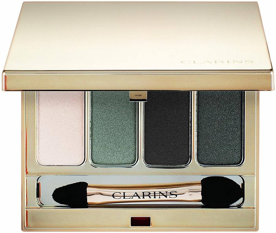 Štvorfarebné očné tiene - Clarins 4-Colour Eyeshadow Palette