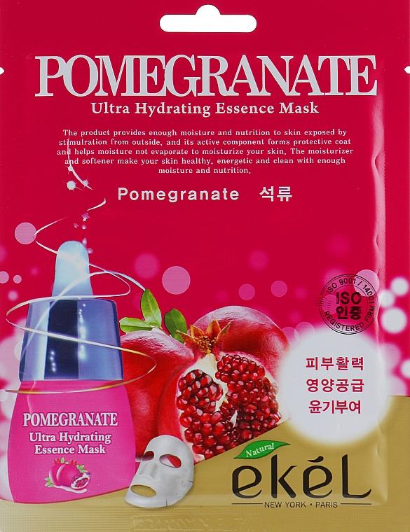 Revitalizačná maska s extraktom z granátového jablka - Ekel Pomegranate Ultra Hydrating Essence Mask