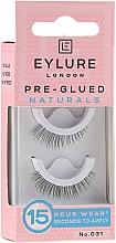 Voňavky, Parfémy, kozmetika Falošné riasy №031 - Eylure Pre-Glued Naturals