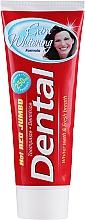 "Voňavky, Parfémy, kozmetika Zubná pasta ""Extra bielenie"" - Dental Hot Red Jumbo Extra Whitening Toothpaste"