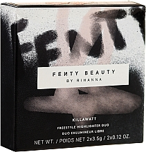 Voňavky, Parfémy, kozmetika Rozjasňovač - Fenty Beauty Killawatt Freestyle Highlighter