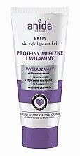 Voňavky, Parfémy, kozmetika Krém na ruky a nechty - Anida Pharmacy Milk Hand Cream