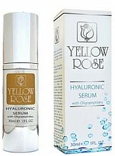 Voňavky, Parfémy, kozmetika Sérum s kyselinou hyalurónovou - Yellow Rose Hyaluronic Serum With Oligopeptides