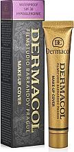 Voňavky, Parfémy, kozmetika Tónovací krém so zvýšenými maskujúcimi vlastnosťami - Dermacol Make-Up Cover