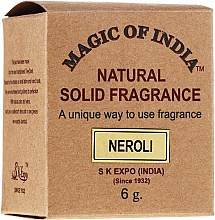 """Voňavky, Parfémy, kozmetika Prírodný parfumovaný krém """"Neroli"""" - Shamasa"""