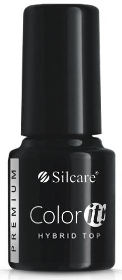 Gélový vrchný lak na nechty - Silcare Color IT Premium Hybrid Top Coat Gel