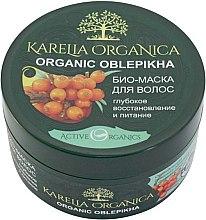 """Voňavky, Parfémy, kozmetika Biomaska na vlasy """"Organic Oblepikha"""", hĺbková obnova a výživa - Fratti NV Karelia Organica"""