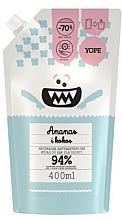 """Voňavky, Parfémy, kozmetika Detské antibakteriálne mydlo """"Ananás a kokos"""" - Yope (doypack)"""