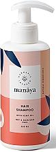 Voňavky, Parfémy, kozmetika Regeneračný šampón s konopným olejom pre suché a poškodené vlasy - Manaya Hair Shampoo With Hemp Oil