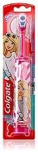 Voňavky, Parfémy, kozmetika Detská elektrická zubná kefk, Barbie, ružovo-biela - Colgate Electric Motion Barbie