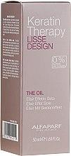 Voňavky, Parfémy, kozmetika Keratínový olej na vlasy - Alfaparf Lisse Design Keratin Therapy Oil