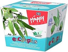 Voňavky, Parfémy, kozmetika Univerzálne obrúsky, eukalyptus - Bella Baby Happy