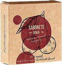 """Voňavky, Parfémy, kozmetika Prírodné mydlo """"Gingin"""" - Essencias De Portugal Senses Ginja Soap With Olive Oil"""