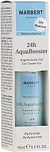 Voňavky, Parfémy, kozmetika Osviežujúci krémový gél na viečka - Marbert 24h AquaBooster Augencreme-Gel