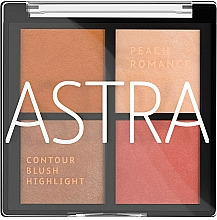 Voňavky, Parfémy, kozmetika Paleta na líčenie tváre - Astra Make-up The Romance Palette