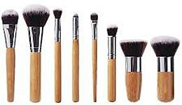 Voňavky, Parfémy, kozmetika Sada štetcov na líčenie, 10 ks - Fascination Bamboo Complexion & Eyes