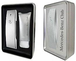 Voňavky, Parfémy, kozmetika Mercedes-Benz Mercedes-Benz Club - Sada (edt/100ml + sh/gel/75ml)