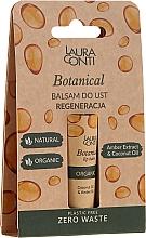 Voňavky, Parfémy, kozmetika Balzam na pery s jantárovým olejom - Laura Conti Botanical Lip Balm