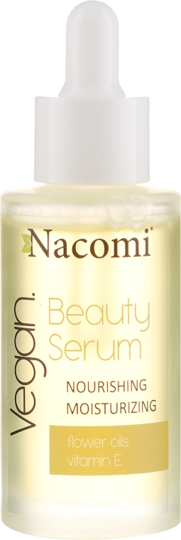 Hydratačné sérum na tvár - Nacomi Beauty Serum Nourishing & Moisturizing Serum
