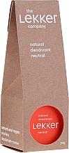 Voňavky, Parfémy, kozmetika Prírodný krémový dezodorant bez vône - The Lekker Company Natural Deodorant Neutral