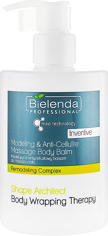 Anticelulitídový balzam na telo - Bielenda Professional Med Technology Massage Body Balm — Obrázky N1