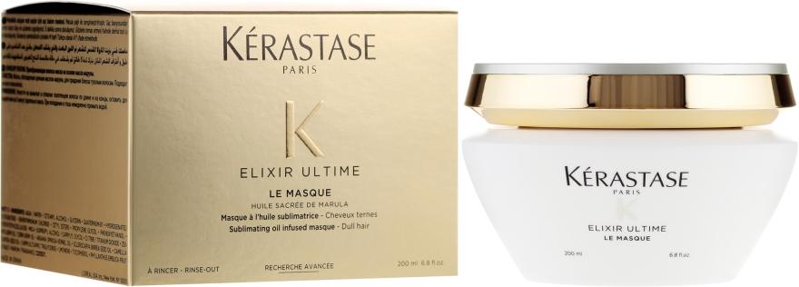 Výživná maska pre matné vlasy - Kerastase Elixir Ultime Le Masque