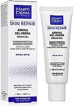 Voňavky, Parfémy, kozmetika Krémový gél na tvár - MartiDerm Skin Repair Arnika Cream Gel SPF 30