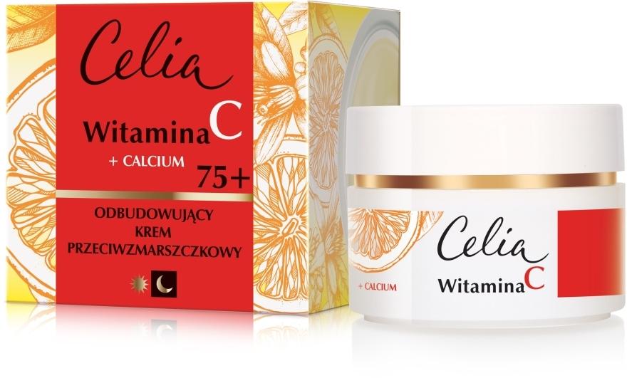 Krém na tvár proti vráskam na deň a noc 75+ - Celia Witamina C