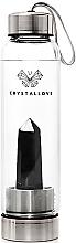 Voňavky, Parfémy, kozmetika Fľaša s kryštálmi čierneho obsidiánu, 500 ml - Crystallove