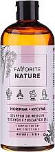 Voňavky, Parfémy, kozmetika Šampón na suché a kučeravé vlasy - Favorite Nature Shampoo For Dry And Frizzy Hair Moringa & Ricin
