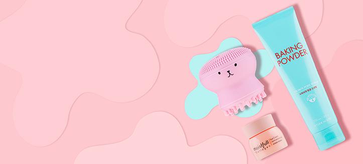 Pri nákupe výrobkov Etude House v hodnote vyše 40 € získaj silikónovú kefu na čistenie tváre ako darček