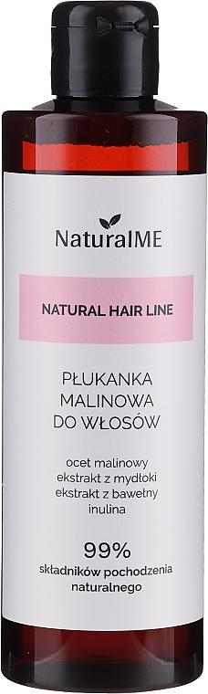 Oplachovač na vlasy s malinovým octom - NaturalME Natural Hair Line Balm