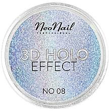 Voňavky, Parfémy, kozmetika Púder na nechtový dizajn - NeoNail Professional 3D Holo Effect