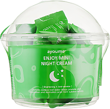 Voňavky, Parfémy, kozmetika Nočný krém na tvár s ázijskou centellou - Ayoume Enjoy Mini Night Cream