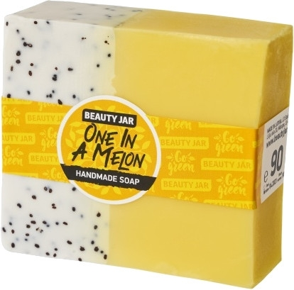 Glycerínové mydlo s vôňou melónu - Beauty Jar One In A Melon Handmade Soap