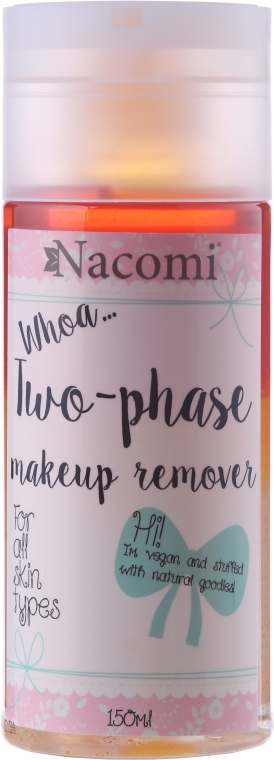 Dvojfázový odstraňovač make-upu - Nacomi Two Phase Oil Double Effect — Obrázky N1