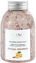 """Voňavky, Parfémy, kozmetika Minerálna soľ do kúpeľa """"Pomaranč so škoricou"""" - Kanu Nature Orange Cinnamon Mineral Bath Salt"""