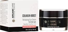 Voňavky, Parfémy, kozmetika Krém pre oblasť okolo očí proti vráskam - Arganicare Collagen Boost Perfecting Eye Cream