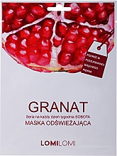 Voňavky, Parfémy, kozmetika Obnovujúca maska s granátovým jablkom - LomiLomi Granat