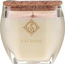 """Voňavky, Parfémy, kozmetika Vonná sviečka """"Borovicový céder"""" - Essencias De Portugal Senses Saudade Pine Cedar Candle"""