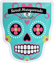 Voňavky, Parfémy, kozmetika Textilná maska na tvár - Dr Mola Sweet Masquarade Green Fruits mask